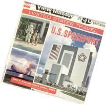 ViewMaster 3Reel Set - Spaceport USA - John F. Kennedy NASA