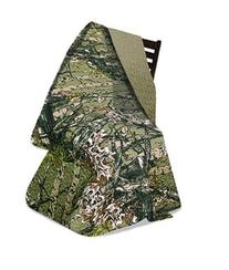 "Virah Bella Collection - ""The Woods"" Camo Quilt Throw Forest"