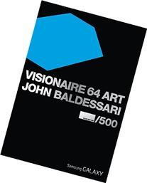 Visionaire No. 64: Art, Baldessari Blue Edition