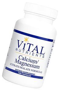 Vital Nutrients - Calcium/Magnesium  - Cardiovascular,