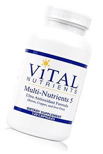 Vital Nutrients - Multi-Nutrients 5 - Ultra Antioxidant