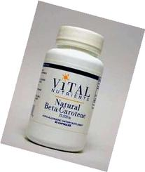 Vital Nutrients Beta Carotene 25000 IU 90 caps