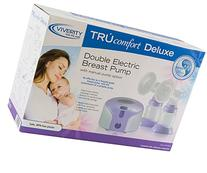 Viverity ROS-DBDX Trucomfort Deluxe Double Electric Breast Pump with Manual Pump Option