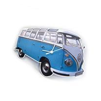 Volkswagen Combi turquoise clock