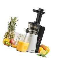 VonShef Digital Slow Masticating Juicer Machine with 2