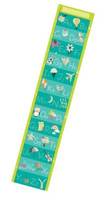 Wall Pops  WPG0621 Alphabet Growth Chart Wall Decals