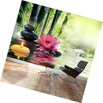 Wall26 - Large Wall Mural - Spa and Zen Concept with Lily,