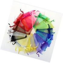 ZXUY Wedding Party Favor Satin Drawstring Organza Bags Pouch