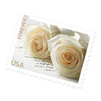 Wedding Roses Sheet of 20 Usps Forever Postage Stamps