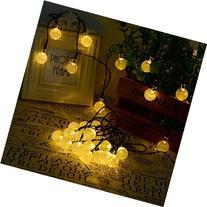 Wedna Solar Outdoor String Lights 20ft 30 LED Warm White
