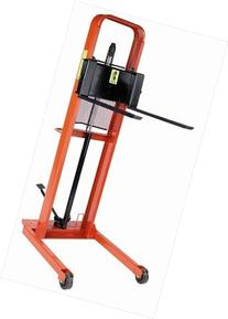 """Wesco Straddle Fork Hydraulic Stacker - 32-1/2""""Wx48""""D - 76"""