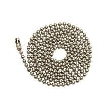 Westinghouse Lighting Corp 3-Feet Beaded Chain, Nickel -