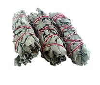 """White Sage Smudge Sticks - Each Stick Approx. 4"""" Long - Pack"""
