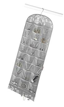Whitmor Grey Swirl Jewelry Organizer