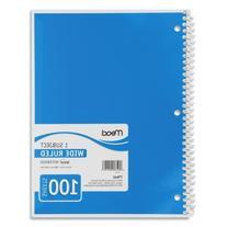 Wholesale CASE of 25 - Mead Spiral Bound Notebooks-Spiral