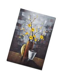Wieco Art - Silent Beauty Modern 100% Hand-painted Artwork
