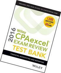 Wiley CPAexcel Exam Review 2016 Test Bank: Financial