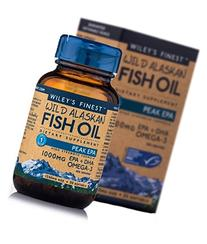 Wileys Finest - Wild Alaskan Fish Oil Peak EPA, 1000 mg, 30