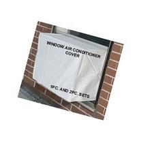 Window Air Conditioner Cover - Window/thru Wall - 2PC SET -