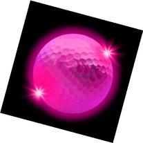 Windy City Novelties Novelty LED Golf Ball, Pink