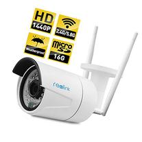 Reolink RLC-410WS 4MP Super HD 2.4/5Ghz Dual Band Wi-Fi