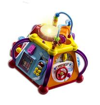 WolVol Musical Activity Cube Play Center with Lights, 15