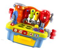 WolVol Musical Learning Workbench Toy with Tools,