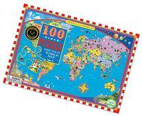 eeBoo World Map Puzzle, 100 pieces