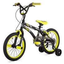 X-Games FS-16 BMX/Freestyle Bicycle, 16-Inch, Black/Yellow