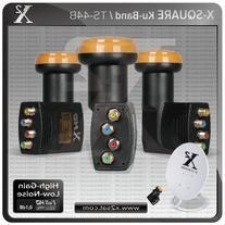 """X2- Full HD KU Quad Universal LNB """"0.1 DB"""