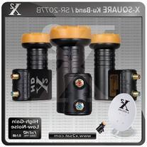 """X2- Full HD KU Twin Universal LNB """"0.1 DB"""