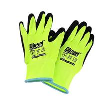 XL / 6 Pair, Garden Gloves Latex Coated Work Gloves