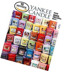 Yankee Candle Votives - Grab Bag of 10 Assorted Yankee