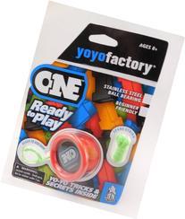 YoYoFactory ONE Ball Bearing Professional Trick YoYo - Red