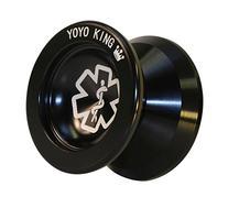 Yoyo King Black Dr. Smalls 3/4 Sized Metal Yoyo with Narrow
