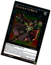 Yu-Gi-Oh! - Gagaga Cowboy  - Premium Gold: Infinite Gold - 1st Edition - Gold Rare