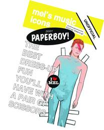 Ziggy Paperboy!: Unofficial David Bowie Paper Doll Tribute