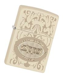Zippo American Classic Cream Matte Pocket Lighter