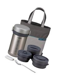 Zojirushi ZONCE09ST Ms. Bento Stainless-Steel Vacuum Lunch