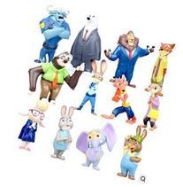 OliaDesign Zootopia Deluxe Figures Mini Action Figure Movie