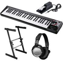 Roland A-49 MIDI Controller  STAGE BUNDLE w/ Keyboard Bag &