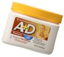 A + D Original Ointment Jar, Diaper Rash and All-Purpose