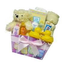 Art of Appreciation Gift Baskets It's A Girl New Baby Gift