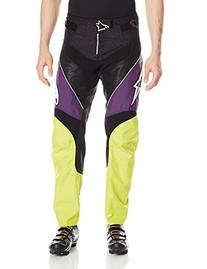 Alpinestars Mens A - Line 2 Pants, 32, Purple Acid Yellow