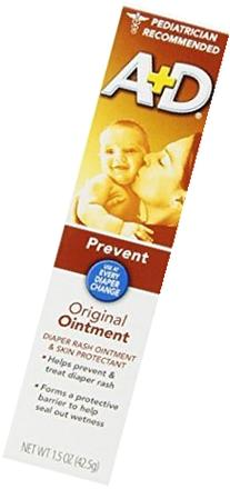 A & D Diaper Rash Ointment & Skin Protectant, Original -1.5