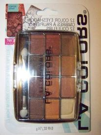 L.A. Colors Expressions, 12 Color Eyeshadow, BEP423 Trendy