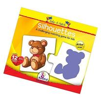 Make A Match Baby Puzzle Games - Silhouettes. For 2+ Years