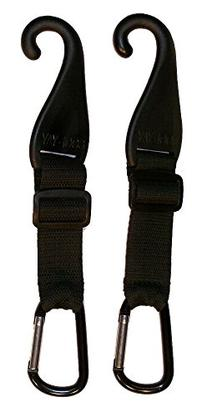 A Pair of Patented CJ Fence Hooks for Bat Bags, Tennis Bags