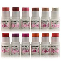 12pc L.A.Colors Tinted Cheek & Lips 2-in-1 set of 12 colors