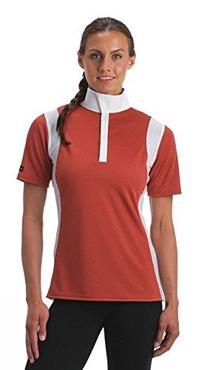 Kerrits It's A Wrap Shirt, Papaya, Size Large